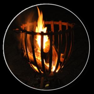 Gartengestaltung mal anders mit dem Feuerkorb