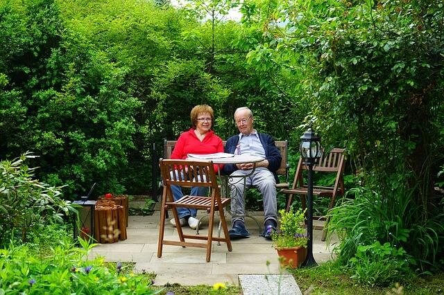 Gartenmöbel  für die Gartengestaltung